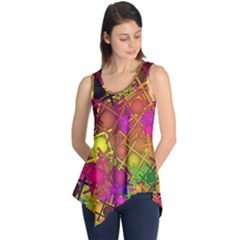 Fun,fantasy And Joy 5 Sleeveless Tunic