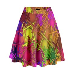 Fun,fantasy And Joy 5 High Waist Skirt