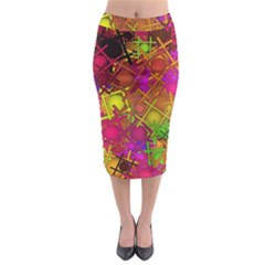 Fun,fantasy And Joy 5 Midi Pencil Skirt