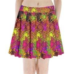 Fun,fantasy And Joy 5 Pleated Mini Skirt