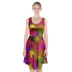 Fun,fantasy And Joy 5 Racerback Midi Dress