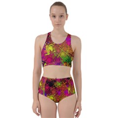 Fun,fantasy And Joy 5 Racer Back Bikini Set