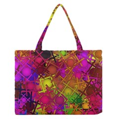 Fun,fantasy And Joy 5 Zipper Medium Tote Bag