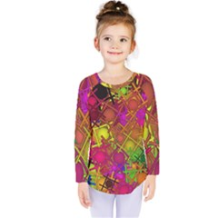 Fun,fantasy And Joy 5 Kids  Long Sleeve Tee