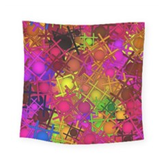 Fun,fantasy And Joy 5 Square Tapestry (small)