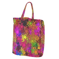 Fun,fantasy And Joy 5 Giant Grocery Zipper Tote
