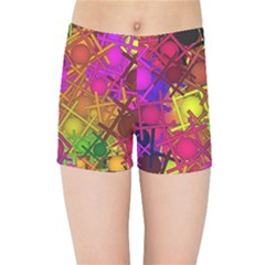 Fun,fantasy And Joy 5 Kids Sports Shorts