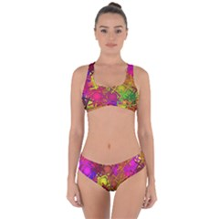 Fun,fantasy And Joy 5 Criss Cross Bikini Set