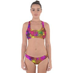 Fun,fantasy And Joy 5 Cross Back Hipster Bikini Set
