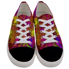 Fun,fantasy And Joy 5 Women s Low Top Canvas Sneakers