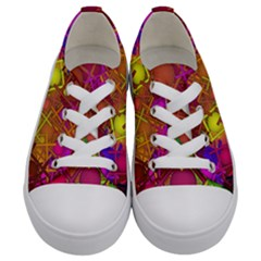 Fun,fantasy And Joy 5 Kids  Low Top Canvas Sneakers