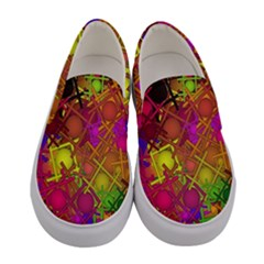 Fun,fantasy And Joy 5 Women s Canvas Slip Ons