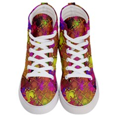 Fun,fantasy And Joy 5 Women s Hi Top Skate Sneakers