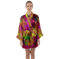 Fun,fantasy And Joy 5 Long Sleeve Kimono Robe