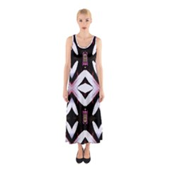 Japan Is A Beautiful Place In Calm Style Sleeveless Maxi Dress