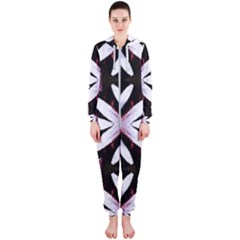 Japan Is A Beautiful Place In Calm Style Hooded Jumpsuit (ladies)