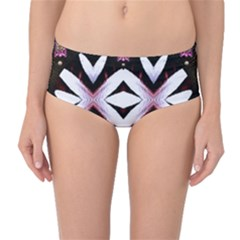Japan Is A Beautiful Place In Calm Style Mid Waist Bikini Bottoms