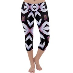Japan Is A Beautiful Place In Calm Style Capri Yoga Leggings