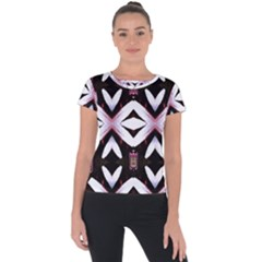 Japan Is A Beautiful Place In Calm Style Short Sleeve Sports Top