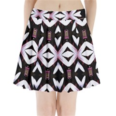 Japan Is A Beautiful Place In Calm Style Pleated Mini Skirt