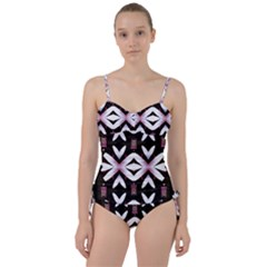 Japan Is A Beautiful Place In Calm Style Sweetheart Tankini Set