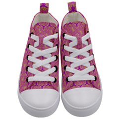 Universe 1 Pattern Kid s Mid Top Canvas Sneakers