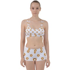 Bitcoin Logo Pattern Women s Sports Set