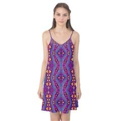 Aztec Purple Pattern Camis Nightgown