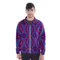 Aztec Purple Pattern Wind Breaker (men)
