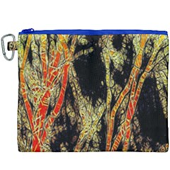 Artistic Effect Fractal Forest Background Canvas Cosmetic Bag (xxxl)
