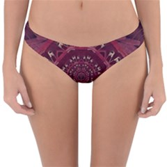 Leather And Love In A Safe Environment Reversible Hipster Bikini Bottoms