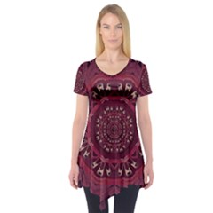 Leather And Love In A Safe Environment Short Sleeve Tunic