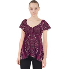 Leather And Love In A Safe Environment Lace Front Dolly Top