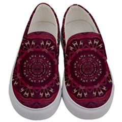 Leather And Love In A Safe Environment Men s Canvas Slip Ons