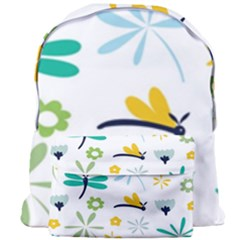 Busy Dragonflies Giant Full Print Backpack