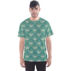 Green Fan  Men s Sports Mesh Tee