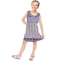Flower Of Life Pattern 2 Kids  Tunic Dress