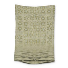 Shooting Stars Over The Sea Of Calm Small Tapestry