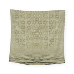 Shooting Stars Over The Sea Of Calm Square Tapestry (small)