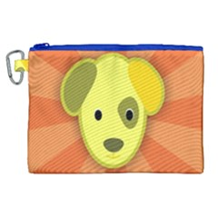 Adoption Animal Bark Boarding Canvas Cosmetic Bag (xl)