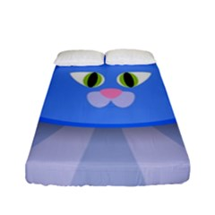 Advertise Animal Boarding Cat Fitted Sheet (full/ Double Size)