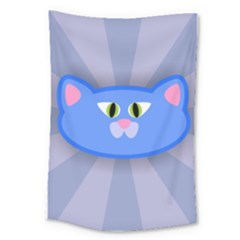 Advertise Animal Boarding Cat Large Tapestry