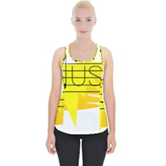 Music Dance Abstract Clip Art Piece Up Tank Top