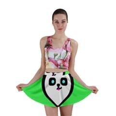 Panda Bear Mini Skirt
