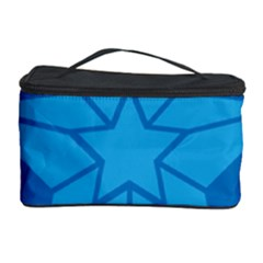 Star Design Pattern Texture Sign Cosmetic Storage Case