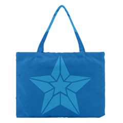 Star Design Pattern Texture Sign Medium Tote Bag