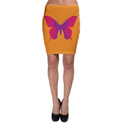 Butterfly Wings Insect Nature Bodycon Skirt