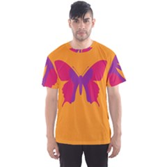 Butterfly Wings Insect Nature Men s Sports Mesh Tee