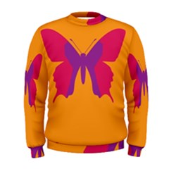 Butterfly Wings Insect Nature Men s Sweatshirt