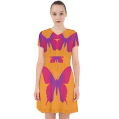Butterfly Wings Insect Nature Adorable In Chiffon Dress